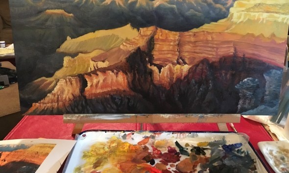Grand Canyon Painting Michelle East