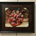 swaziland strawberries Art hop exhibit