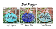 Bell Pepper clay garden marker label