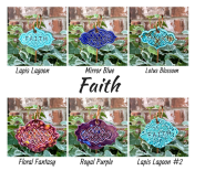 Faith ceramic gift marker label