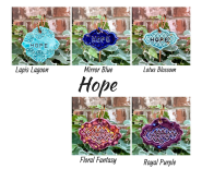 Hope Ceramic Gift Plant Marker