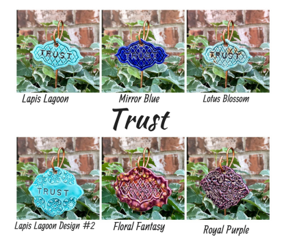 TrustCeramic Gift Plant Marker