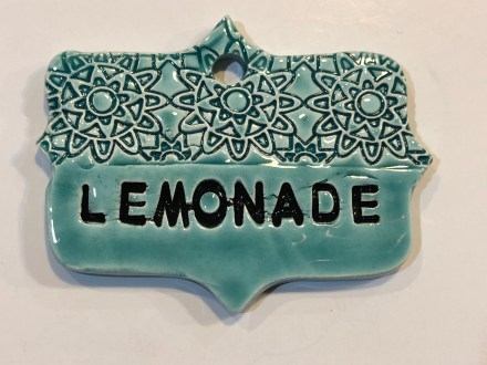 Lemonade Drink Ceramic Marker