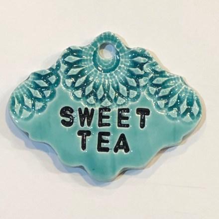 Sweet Tea Drink Ceramic Marker
