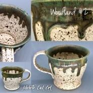 Woodland handmade ceramic mug
