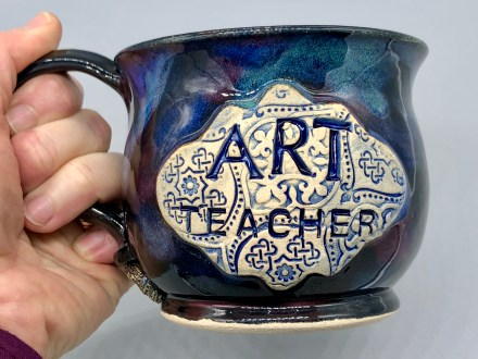Art Teacher Handmade Mug
