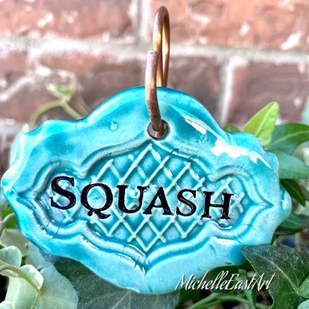 Squash Garden Marker
