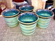 Turquoise Sands Tumblers Set of 4