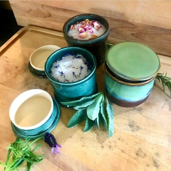 Great Oaks Farm Bath Salt Lidded Jars