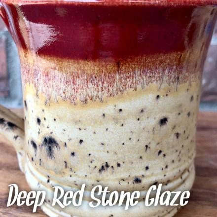 Deep Red Stone Glaze combo