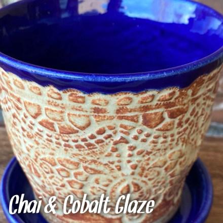 chai cobalt glaze combo