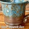 Copper Shipwreck glaze