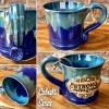 Be Strong and Courageous Handmade Mug