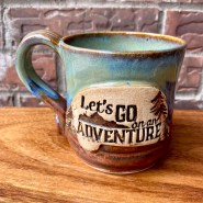 Let's go on an adventure mug camper