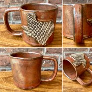 texas handmade ceramic mug