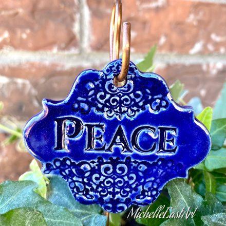 Peace Garden Marker