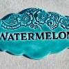 Watermelon Garden Marker