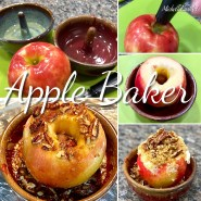 Apple Baker Stoneware Pottery
