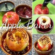 Apple Baker Stoneware Pottery
