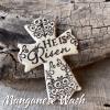 He is Risen Cross Manganese Wash