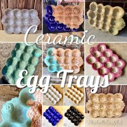 Ceramic Egg Tray