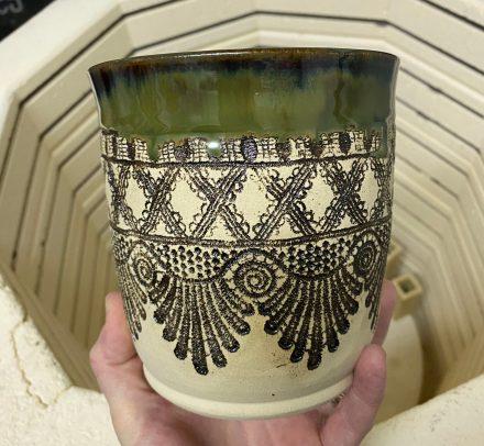 Pure Lace mug