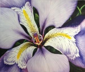 """Louisiana Iris"" by Michelle C. East,"