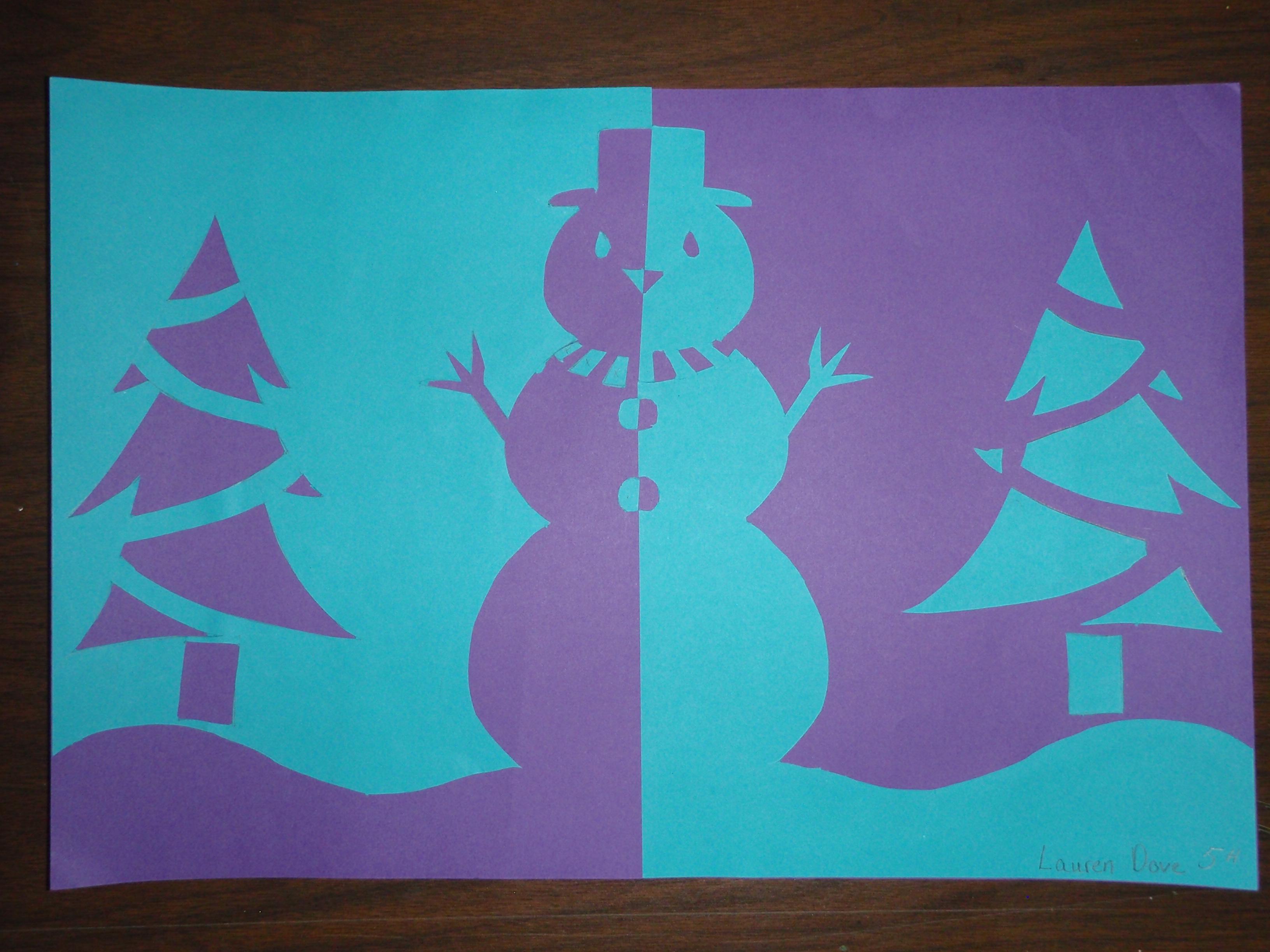 Images About Positive Amp Negative Art