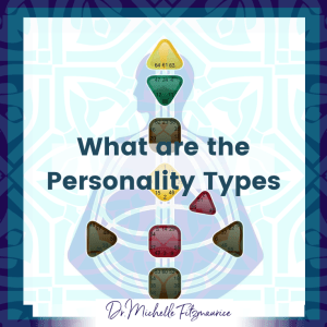 What are the four personality types in human design?