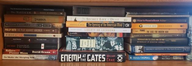 2021's book blog TBR pile