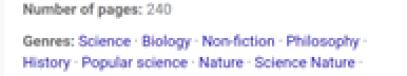 Goodreads genre list.