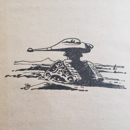 H.G. Wells drawing