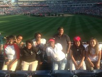 Group shot at the game!