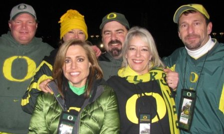 Chelle, Sandra, me, KelCan and Steve