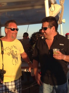 More smiles on the booze cruise