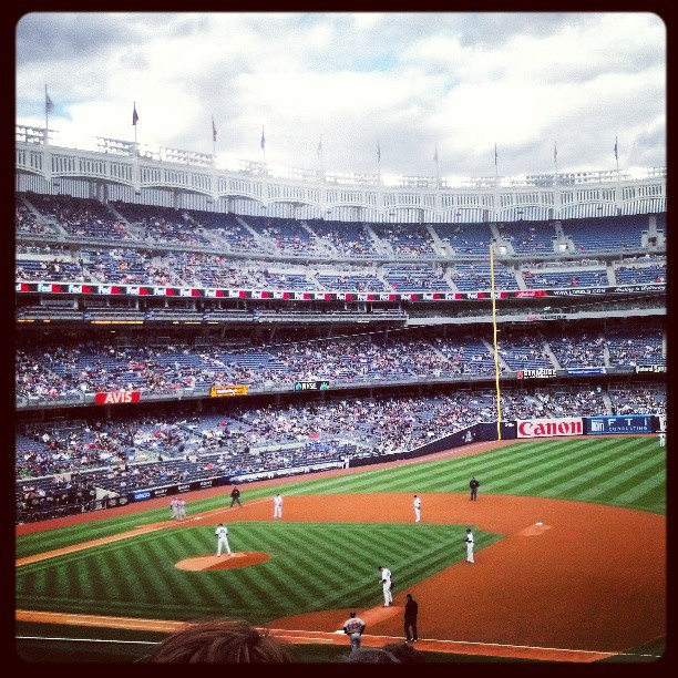 Canon loves the Yankees as much as I do.  #photography #canonshooter #togs #attyankees