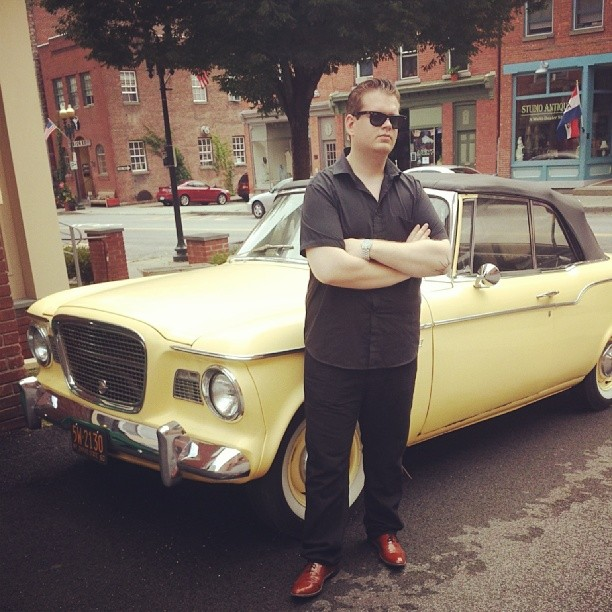 Tony Vitti #jazzsinger #classiccar #50s