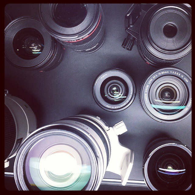 Canon Booth #PPE2013 #lenses #canon #camera #photography