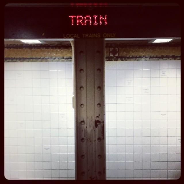 Train #subway #mta #newyork #travel #transportation