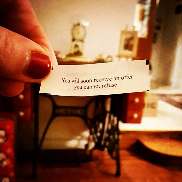 Apparently, Don Corleone is in the business of writing fortune cookies #thegodfather #doncorleone #chinesefoid #fortunecookie #hilarious #funny #humor #anoffericantrefuse #sicilian #sicily