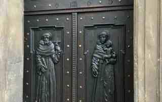 Ancient Door in Prague