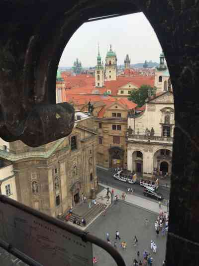Old Town Prague View from the Watch Tower