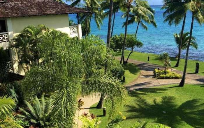Balcony View - Superior room Intercontinetal Tahiti