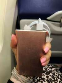 Portable Charger Pink