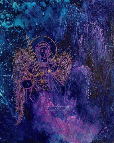 Midnight Protector (Archangel Michael), 2018