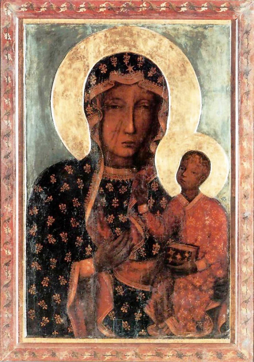 Black Madonna of Czestochowa in Poland