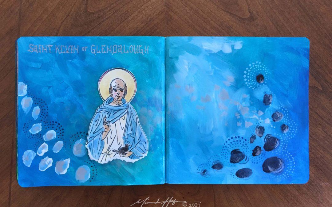 Saint Kevin of Glendalough