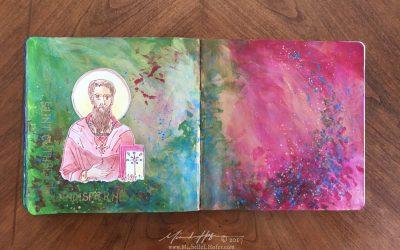 Saint Cuthbert of Lindisfarne