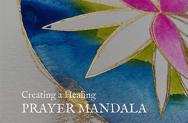 Creating a Healing Prayer Mandala Tutorial