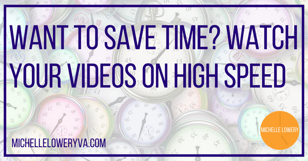 Want to Save Time? Watch Your Videos on High Speed